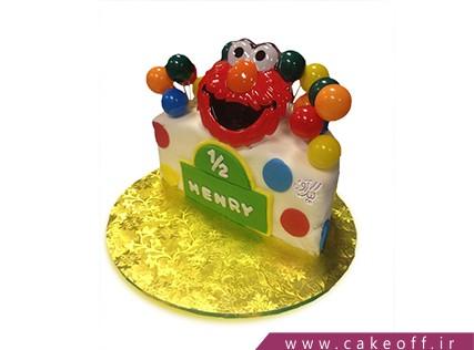 کیک جشن نیم سالگی - کیک تولد نوزاد- کیک نیم سالگی | کیک آف
