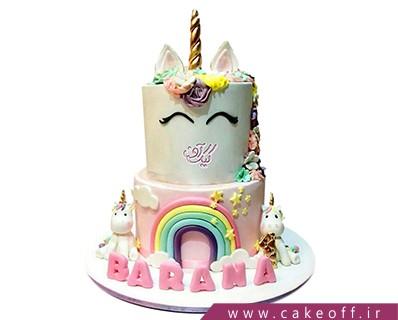 کیک اسب تک شاخ و اسب های کوچولو | کیک آف