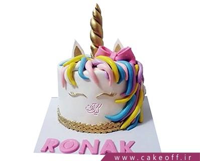 کیک تولد دخترانه جدید - کیک اسب تک شاخ 6 | کیک آف