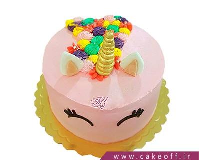 کیک تولد اسب تک شاخ 6 | کیک آف