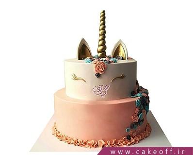 کیک تولد دخترانه جدید - کیک یونیکو اسب تک شاخ 2 | کیک آف