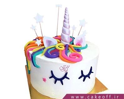 کیک تولد دخترانه جدید - کیک اسب تک شاخ 5 | کیک آف
