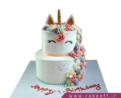 کیک اسب تک شاخ دلربا | کیک آف