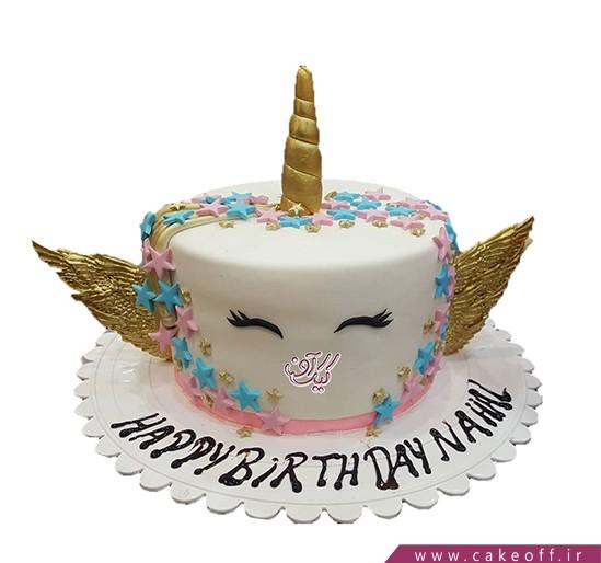 مدل کیک تولد دخترانه - کیک اسب تک شاخ 9   کیک آف