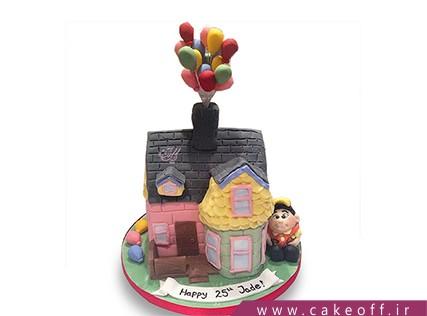 کیک تولد بچه ها - کیک کارتون آپ 12 | کیک آف