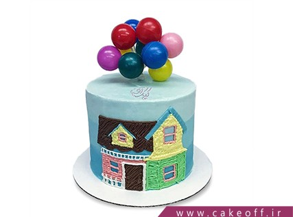 کیک تولد بچه ها - کیک کارتون آپ 11 | کیک آف