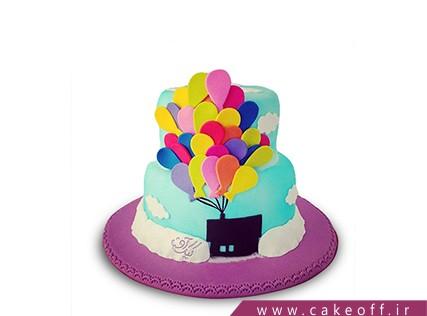 کیک کارتونی - کیک کارتون آپ 5 | کیک آف