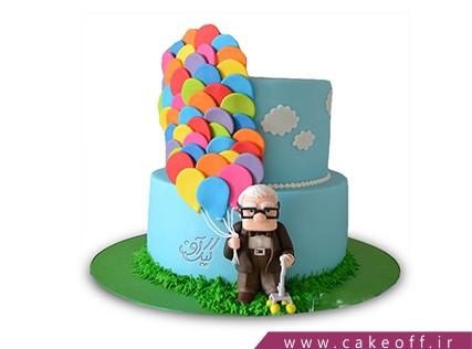 کیک کارتونی - کیک کارتون آپ 4 | کیک آف