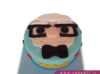 کیک کارتونی - کیک کارتون آپ 3 | کیک آف