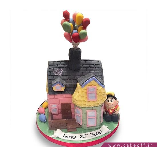کیک تولد بچه ها - کیک کارتون آپ ۱۲ | کیک آف