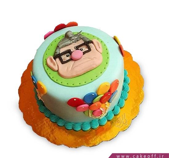 کیک کارتونی - کیک کارتون آپ ۸ | کیک آف