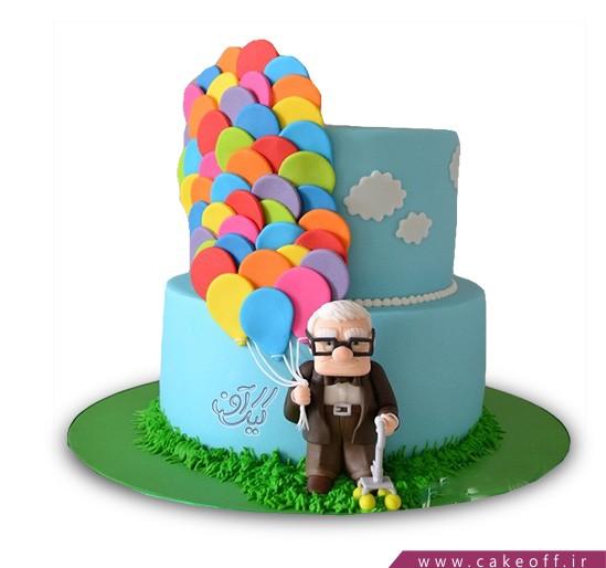 کیک کارتونی - کیک کارتون آپ ۴ | کیک آف