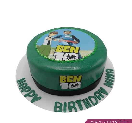 کیک بن تن تصویری