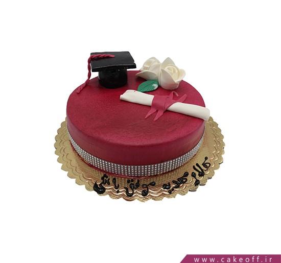 کیک فارغ التحصیلی - کیک این نیز بگذشت | کیک آف