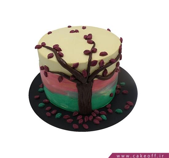 کیک تولد زیبا - کیک پاییز زیبا | کیک آف