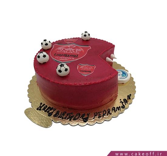 کیک پرسپولیسی - کیک پرسپولیس قهرمان | کیک آف