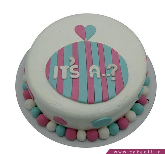 کیک تعیین جنسیت نوزاد هادی هدی | کیک آف
