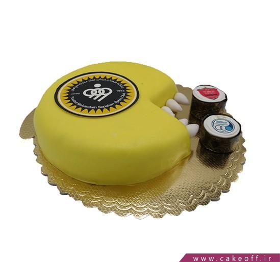 کیک فوتبالی - کیک سپاهان، افتخار اصفهان | کیک آف
