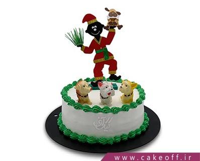 کیک اصفهان - کیک عیدتان مبارک | کیک آف