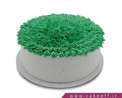 کیک عید و سبزه خوش رنگ | کیک آف
