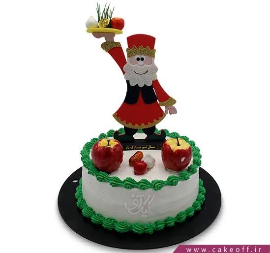 کیک عمو نوروز ایرانی