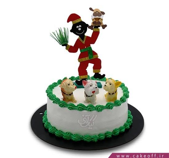 کیک عیدتان مبارک