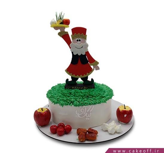 کیک عمو نوروز و شادباش عید