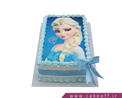 کیک تصویری السا می درخشد | کیک آف