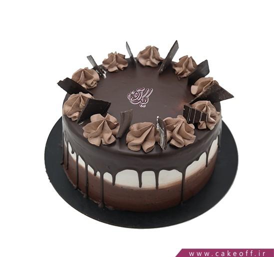 کیک شکلاتی سلطان قلب ها   کیک آف