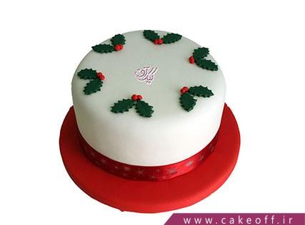 کیک جشن کریسمس - برای کریسمس خانه خواهم بود | کیک آف