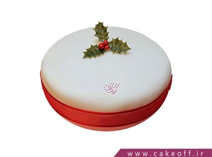 کیک جشن کریسمس - کیک برگ کریسمس | کیک آف