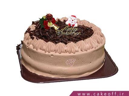 کیک کریسمس خامه ای | کیک آف