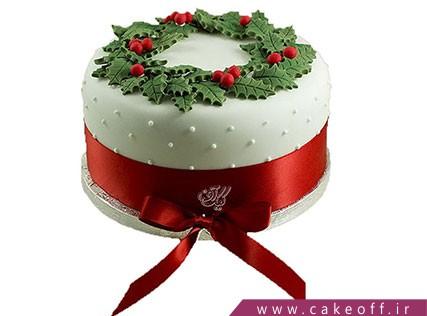 کیک کریسمس زیبا | کیک آف