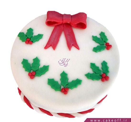 کیک کریسمس پاپیونی