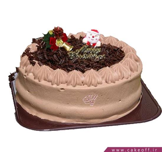 کیک کریسمس خامه ای