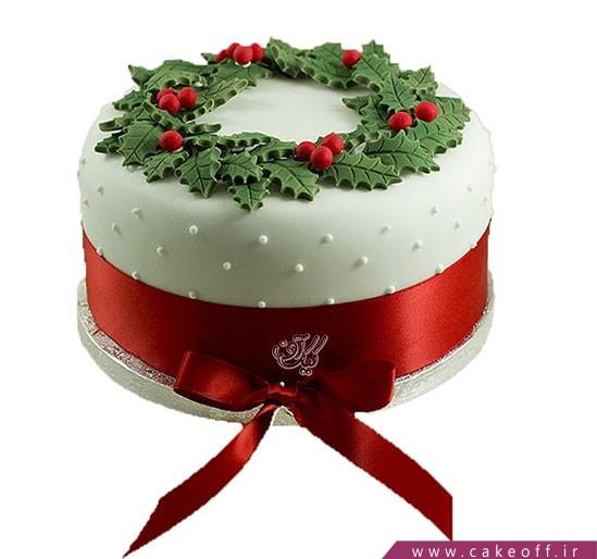 کیک کریسمس زیبا