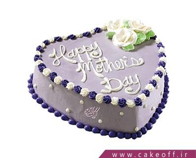 کیک تولد مادر - کیک قلب مادر | کیک آف