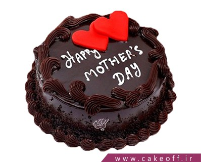 کیک تولد مادر شکلاتی | کیک آف