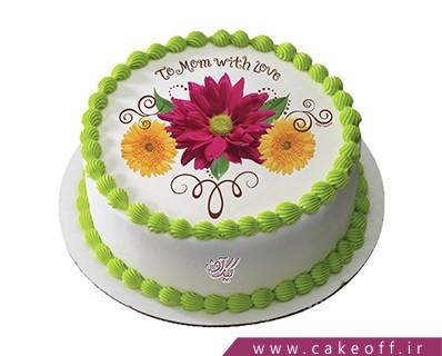 کیک تولد مادر - کیک تصویری روز مادر | کیک آف