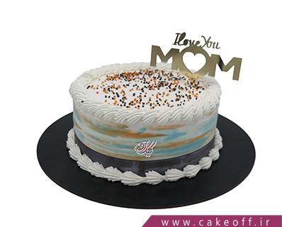 کیک تولد مادر - کیک عشق من مادرم | کیک آف