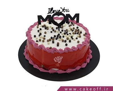 کیک روز مادر - کیک مادرم ،تاج سرم | کیک آف