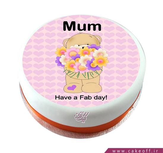 کیک روز مادر - کیک تولد مادر - کیک تقدیم به مادرم | کیک آف
