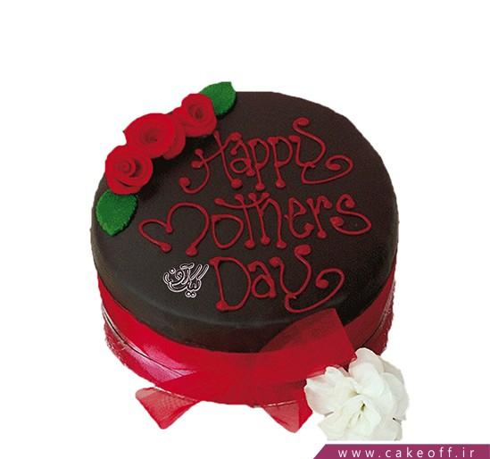 کیک تولد مادر زیبای من | کیک آف