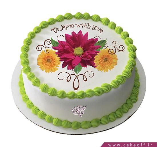 کیک تصویری روز مادر