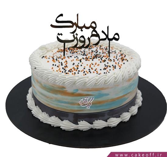 کیک مادرم روزت مبارک