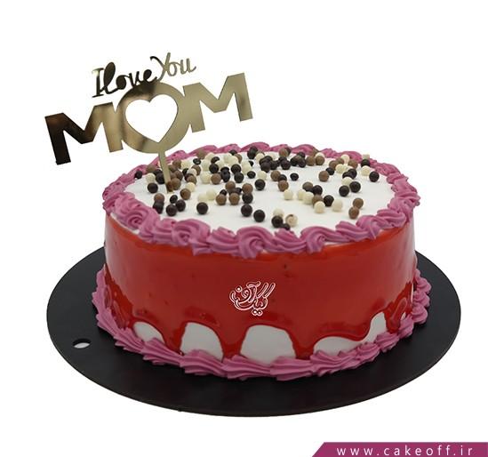کیک روز مادر قلبم برای تو