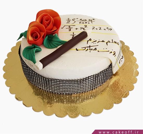 عکس کیک روز معلم ریاضی