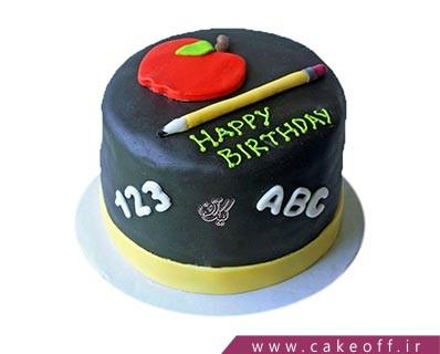 کیک روز معلم - کیک فوندانتی معلم عزیز | کیک آف