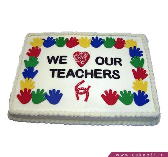 کیک روز معلم محبوب