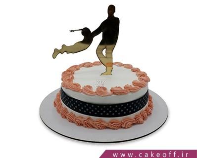 کیک روز پدر - کیک روزت مبارک بابا | کیک آف